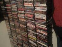 I have over 600 dvds for sale.various titles and