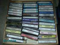 I have for sale over 70 cassette tapes and a carrying