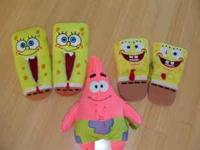 I have over 75 items all collection of Sponge Bob. It