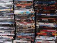 I have over 700 DVD's in original cases, $3 ea., way to
