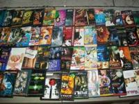 I HAVE OVER 80 DVDS FOR SALE IN EXCELLENT CONDITION. 2