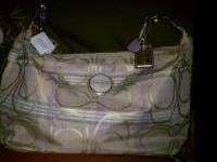 NEW CROSSBODY COACH PURSE WITH TAGS; ORIGINAL PRICE 268