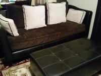 Super Awesome Over-sized Microfiber Couch/Sofa plus