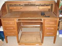 this is a huge desk in excellent condition. 25