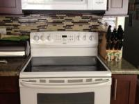 Whirlpool over the range microwave is 2 years new -