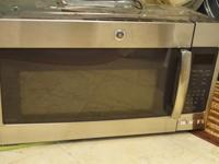 Like new 30 inch GE Profile Over the Range Microwave