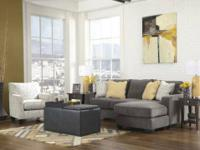 "Retails: $1188Our Price: $599 Includes:93"" Sofa Chaise"