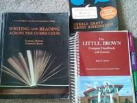 I have the three textbooks that you will need if you