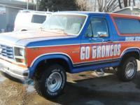 BOISE STATE BRONCOS TRIBUTE  Bronco! 1984 Ford Bronco