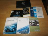 Owners Manual for, 2014 Mazda CX-5. Like New. $25