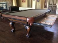 Brand New 8ft. Oxford Pool Table Made By Goldenwest