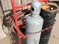 Acetylene / Oxygen, Tanks/Bottles, With Cart -