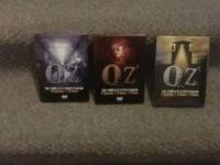Oz season 4,5, and 6. All in perfect condition DVD's