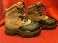 New Ozark Trail Thinsulate waterproof boots. Youth size