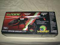 OZONE 3 CHANNEL HELICOPTER NEW IN BOX The Venom Ozone