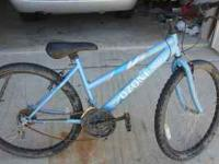 This is a non working Ozone 500 woman bike. It`s good