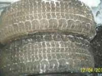 P 195 65 R 14 snow tires $125 Like new on rims call