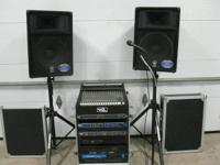 Band or Event Sound System Includes: Crown Designs