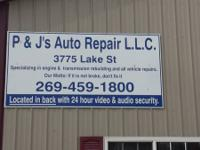 P & J's Auto Repair. A Limited liability company.