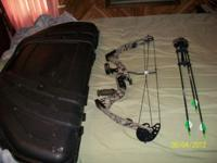 P.S.E. Typhoon bow. 50-70 lbs, 27-29in draw. All set