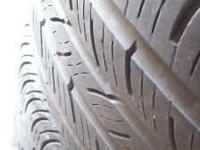P235/45R17 set of 4 good used tires WITH ALOT OF TREAD