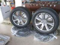 Am selling brand new tires and rims. The tire size is