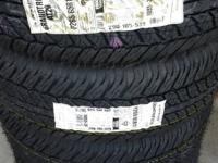 4 BRAND NEW DUNLOP GRAND TREK A20 TIRES P265 65 17