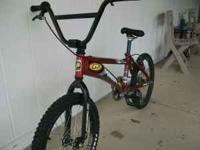 This is a perfect BMX bike for any level of rider. It