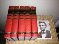 FOR SALE IS A SET OF 5 OF THE 6 SET OF ABRAHAM LINCOLN