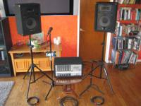 A compleate set up for your band or Open mic night