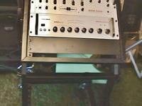 7 band EQ 4 Channel Mixer Channels 1 & 4 Mic/Line