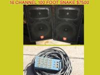 Selling 24-Channel Mackie Mixer VLZ, 32 Channel Allen