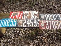 for sale a lot of Pennsylvania license plates for sale