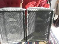 SONIC T-12 Speakers:180.00   T12 small but high powered