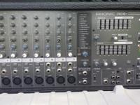 Phonic Powerpod Plus 740 mixer. Comes with 3 Shure