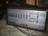 "I'm selling my Pa system. It consists of 2 12"" speakers"