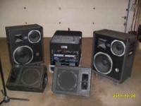 For sale or trade, this nice PA system which sounds