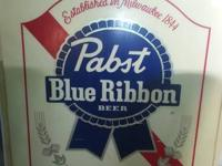 Pabst Blue Ribbon Man cave sign panel xtra large. It is