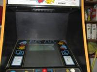 WORKING SUPER PACMAN FULL-SIZE ARCADE FOR SALE.