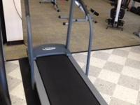 This Pacemaster Bronze treadmill is a preowned device