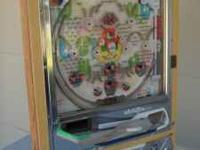 Pachinko Super Deluxe Nishijin vintage pinball machine,