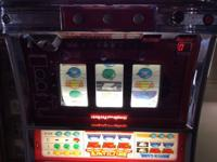 This is an older slot machine that I bought for my