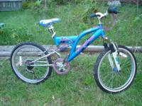 Offered here is a Pacific~All Terrain~6 Speed~Bike.