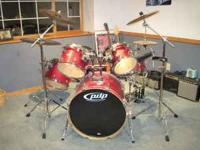 drum kit pdp stockton ca for sale in stockton california classified. Black Bedroom Furniture Sets. Home Design Ideas