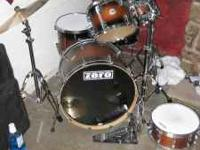 Hey, I have a 6 piece Pacific Drum Set (Platinum