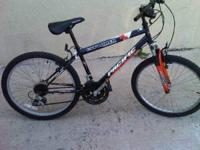 Small frame unisex,shamino equiped, front suspension,