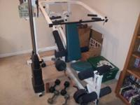 Professional Gym Club quality weight machine complete