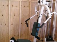 Pacific Fitness Zuma Home Gym. Feature packed gym in