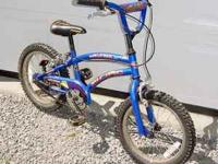Pacific® Bicycle Wolverine XT Description: Knobby front