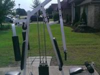 Home Gym by Pacific Fitness for sell, must sell